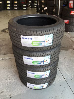 BRAND NEW SET OF TIRES 235/45/18 for Sale in Redlands, CA