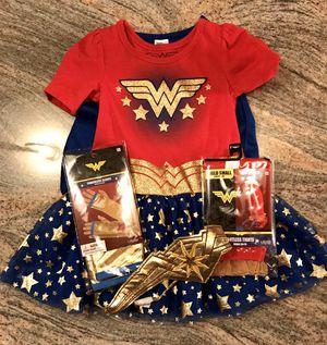 Wonder Woman Halloween Costume for Sale in Matawan, NJ