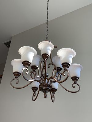 Entryway chandelier with 9 light fixture for Sale in Fairfax, VA