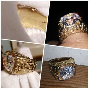 18k Solid gold nugget ring for Sale in Terre Haute, IN