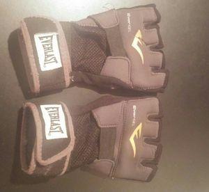Fingerless padded gloves boxing everlast for Sale in undefined