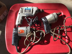Drills - all working - $10 each for Sale in Highland, CA