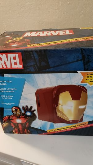 Iron man mini fridge for Sale in Las Vegas, NV