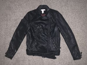 Pleather jacket - size 2 for Sale in Denver, CO