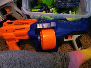 Nerf gun/bullets for Sale in Phoenix, AZ