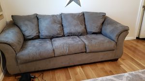 FREE. This couch was used by older kiddos in play room. Not broken but could use a wipe down. Dog free/smoke free. You haul for Sale in Lake Stevens, WA
