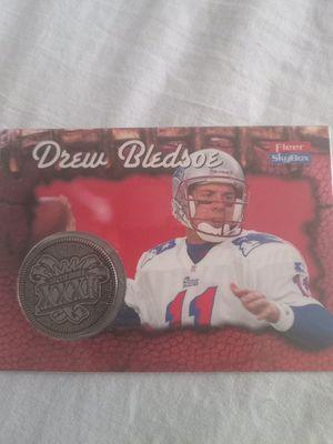 Drew Bledsoe *rare* SB XXXI card for Sale in Brandon, FL