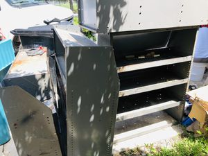 Metallic storage shelves for Sale in Orlando, FL