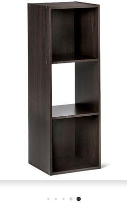 """11"""" 3 Cube Organizer Shelf Dark Brown for Sale in Lynwood,  CA"""