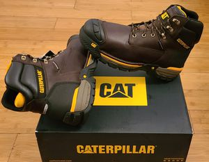 CAT Work Boots size 10.5,11,11.5,12 and 13 for Men. for Sale in Lynwood, CA