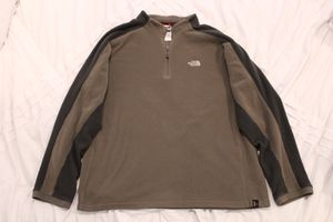 The North Face pullover hoodie jacket tan size large for Sale in Bingham Canyon, UT