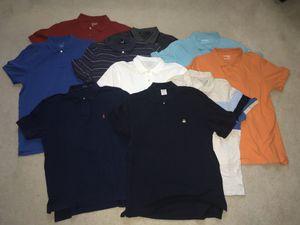 Men's polo shirt bundle Size large for Sale in Clovis, CA
