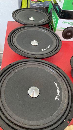 Timpano neodymium 10in Midrange Speakers for Sale in MAGNOLIA SQUARE, FL