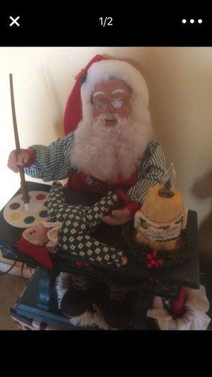 """Santa con música y se mueve tamaño 10"""" x10 for Sale in South Gate, CA"""