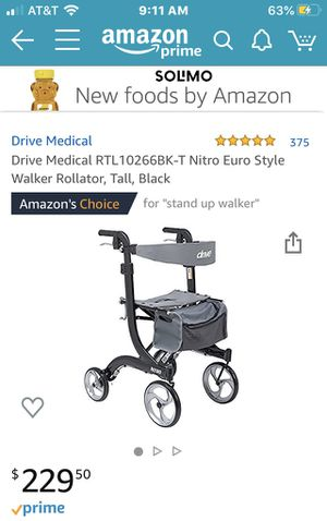 Drive Medical Euro Style Walker for Sale in Las Vegas, NV