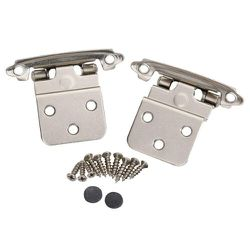 """20 pcs Kitchen Self Closing Inset Hinge 3/8"""" Face Mount Hinge Cabinet Door Hinges NEW for Sale in San Diego,  CA"""