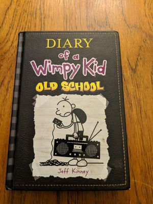 Hard cover diary of a wimpy kid old school for Sale in Los Angeles, CA