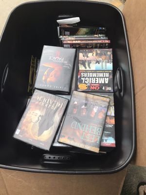 Tote of DVDs for Sale in Adrian, MI