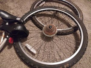 Schwinn Tire/rim bundle 26 inch/ seats!!! for Sale in Roswell, GA