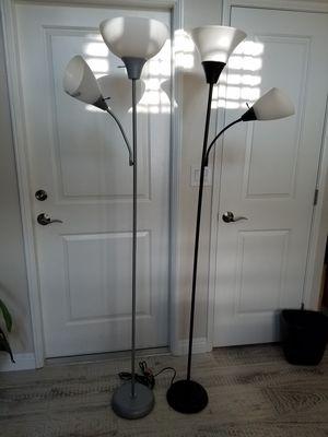 2 floor lamps for Sale in Irvine, CA