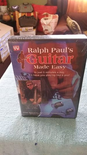 Raul Paul's Guitar set:5 DVD for Sale in Bloomington, CA