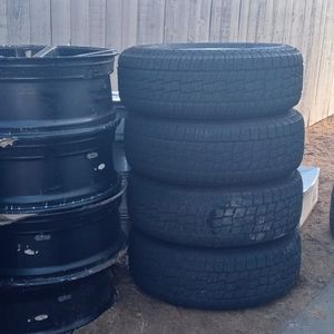 Rims Amd Tires 15,18,28 for Sale in Victorville, CA