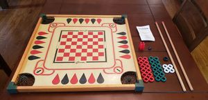 Vintage Carrom Game Board and accessories for Sale in Portsmouth, VA