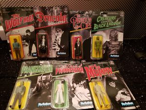 Monsters ReAction Action Figure Funko Bundle for Sale in Philadelphia, PA
