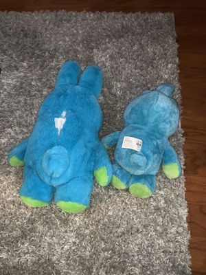 2 bunny plushies for Sale in East Brunswick, NJ