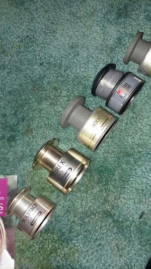 Shimano open face spool for Sale in Pekin, IL