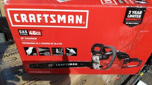 """CRAFTSMAN 20""""CHAINSAW for Sale in Spring Valley, CA"""
