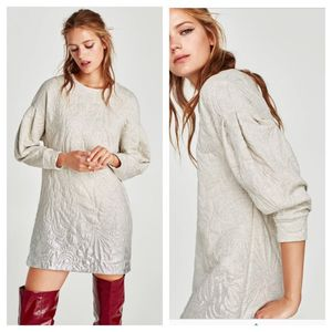 Zara Jacquard Plush Shimmer Dress for Sale in Austin, TX