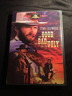 1998 MGM The GOOD, The BAD and The UGLY Clint Eastwood DVD WIDESCREEN English French Spanish Language Subtitles DVD GREAT Condition NO SCRATCHES for Sale in La Habra, CA