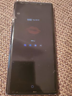 Samsung note 9 128g for Sale in Bakersfield, CA