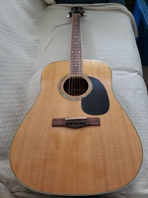 Like new, acoustic guitar by Mitchell. Model #MD100. Has been well taken care of since new and was always in a hard case. for Sale in Manassas, VA