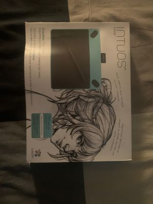 Wacom INTUOS Drawing Tablet for PC for Sale in Garfield, NJ