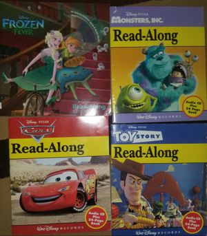 Disney books with Cds $7 for all for Sale in Mansfield, TX