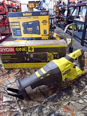 LIKE NEW ! IN ABSOLUTELY EXCELLENT CONDITION!! RYOBI 18 V RECIPROCATING SAW! TOOL ONLY !! for Sale in San Bernardino, CA