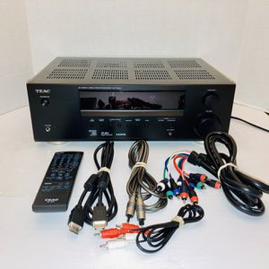 RARE TEAC Japanese Model Dual Voltage AG-D2000 Powerful HDMI 5.1-Channel Home Theater Surround Sound Receiver for Sale in Port Richey, FL