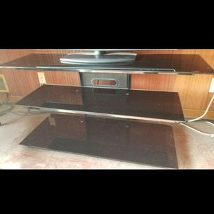Tv Stand Table Media Entertainment Center for Sale in Fresno, CA