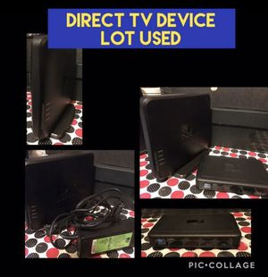 DIRECT TV DEVICE LOT USED AS SHOWN for Sale in Jersey City, NJ