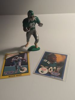 Reggie White 1990 Starting Lineup Figure With Two Cards for Sale in Aberdeen,  WA