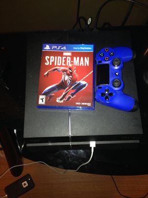 PS4 and Spider-Man game for Sale in El Dorado, AR