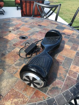 Hover board with charger for Sale in Terrell, TX