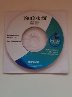 SanDisk Installation Cd for Sale in Chicago,  IL