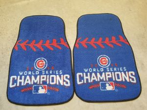 CHICAGO CUBS FLOOR MATS 2016 CHAMPIONS for Sale in Montgomery, AL