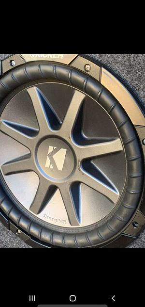 "Kicker CVR 12"" for Sale in Amarillo, TX"
