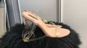 Clear/Nude Heels for Sale in Moreno Valley, CA