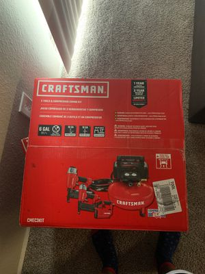 Craftsman air compressor set for Sale in Euless, TX