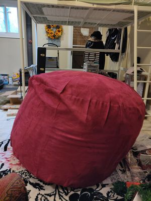 Jumbo bean bag chair for Sale in College Park, MD